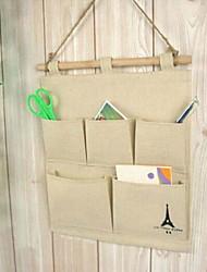 moda algodão / impressão torre cabides sacos de armazenamento vestuário& armário de armário