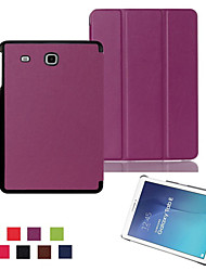 cheap -Ultra-thin Smart Magnetic Stand Leather Case for Samsung Galaxy Tab E 9.6 T560/Tab A 8.0 T350/Tab A 9.7 (Aorted Color)