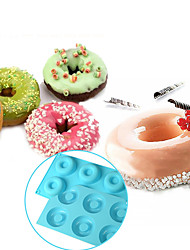 cheap -6-cell Donut Bundt Ring Silicone Baking Mould Tray Cake Mold,Baking Tool