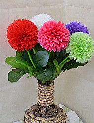 cheap -High Quality Artificial Flowers for Home Decoration Bright Color Flower Ball for Wedding Bouquet Decorations
