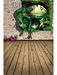 Prints Poster 3D Dinosaur Pictures Print On Canvas  1pcs/set (Without Frame)