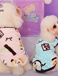 ネコ 犬 コート Tシャツ パジャマ 犬用ウェア コスプレ 結婚式 漫画 蝶結び ブルー ピンク コスチューム ペット用