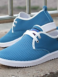 cheap -Men's Shoes Casual Tulle Comfort Fashion Sneakers Blue/Gray