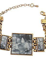 Damen Armbänder Kette Alluminium Multi-Stein