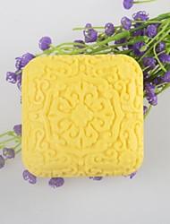 quadrature du savon en forme de moule en silicone moule à cake gâteau chinois moule de fondant au chocolat, des outils de décoration ustensiles