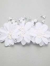 cheap -Pearl Imitation Pearl Alloy Hair Combs Hair Clip 1 Wedding Special Occasion Headpiece