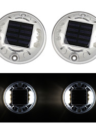 cheap -2pcs Decoration Light Solar Rechargeable / Waterproof