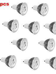 cheap -E14 GU10 GU5.3(MR16) E26/E27 LED Spotlight MR16 3 High Power LED 350 lm Warm White Cold White 3000K/6500K K Decorative AC 85-265 V