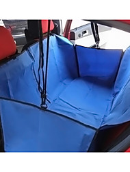 cheap -Cat Dog Car Seat Cover Pet Baskets Solid Portable Foldable Black Gray Brown Red Blue For Pets