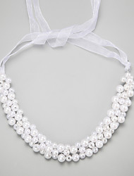 cheap -Imitation Pearl Alloy Headbands 1 Wedding Special Occasion Headpiece