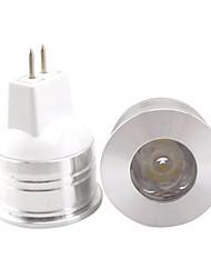 economico -1.5w gu5.3 (mr16) ha condotto il riflettore mr11 1 alto potere principale 350-400lm bianco caldo bianco freddo 3000k / 6500k decorativo dc 12v