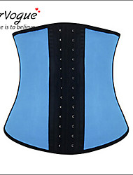 abordables -Crochet Serre Taille Femme Jacquard Modal Spandex Bleu