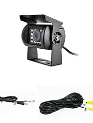 economico -Rear View Camera - Compatibile con qualsiasi modello di auto - Sensore CCD da 1/4 di pollice - 170 ° - 420 linee tv disponibili