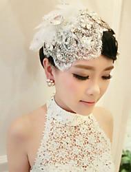 headpiece de barrette acrylique mariage élégant style féminin