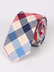 casamento feminino / casamento noturno formal thatcher check skinny necktie