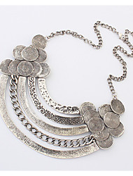 cheap -Women's Choker Necklace  -  Fashion Silver, Golden Necklace For Party, Daily, Casual