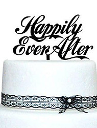 Cake Topper Garden Theme Classic Theme Acrylic Wedding Anniversary Bridal Shower With OPP