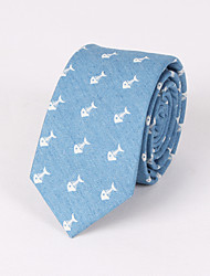 casamento feminino de festa / noite casamento azul impressão pescoço magro gravata