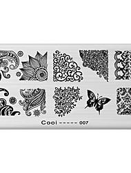 Outras Decorações - Flôr/Abstracto - de Metal - para Dedo - 12X6X0.1 - 1