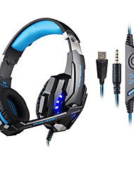 cheap -KOTION EACH KOTION EACH G9000 Headphones (Headband)ForComputerWithWith Microphone / Volume Control / Gaming / Noise-Cancelling