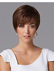 cheap -Europe And The United States  Sell Like Hot Cakes Brown Short Hair Wig