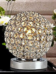 cheap -Crystal Novelty Modern/Contemporary Table Lamp For Metal Wall Light 110-120V 220-240V 40wW