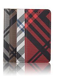 cheap -Case For Apple iPhone 8 iPhone 8 Plus iPhone 6 iPhone 6 Plus Card Holder Wallet with Stand Flip Pattern Full Body Cases Lines / Waves Hard