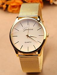 baratos -Geneva Mulheres Relógio de Pulso Quartzo Dourada Venda imperdível Analógico Amuleto Fashion