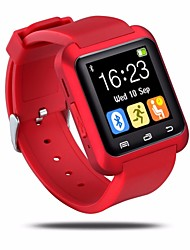 abordables -Bluetooth U80 montre intelligent bt-notification anti-perte de montre-bracelet MTK pour IOS / Android Phone