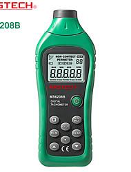 baratos -linha de medidor de velocidade tacômetro tacômetro sem contato fotoelétrico MASTECH-ms6208b- com luz de fundo + armazenamento de dados