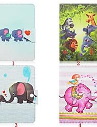 abordables -Huawei Funda Para Xiaomi MI / Lenovo IdeaPad / Tolino Carcasas de Cuerpo Completo / Fundas con Soporte Funda de Cuerpo Entero Animal Dura Cuero de PU para