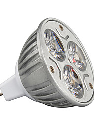 economico -3W 210-245lm GU5.3(MR16) Faretti LED MR16 3 Perline LED LED ad alta intesità Decorativo Bianco caldo / Luce fredda / Colori primari 12V