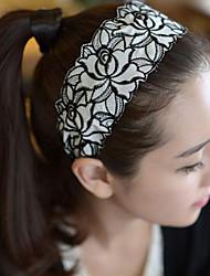 Недорогие -горячий вышивка кружева широкий диапазон волос обруч для волос хан издание моды волос обруч розы