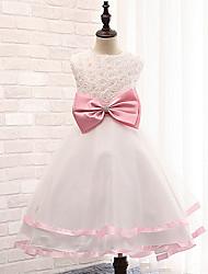 cheap -Girl's Cotton Blend Flower girls Dress Summer Sleeveless