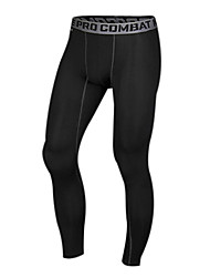 cheap -Men's Running Tights Gym Leggings Compression Lightweight Materials Tights Bottoms Exercise & Fitness Racing Leisure Sports Running