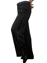 cheap -Latin Dance Bottoms Women's Performance Cotton Linen Buttons 1 Piece Pants