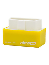NitroOBD2 for Benzine Cars Performance Chip Tuning Box Car Fuel Saver More Power More Torque