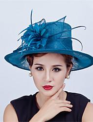 Недорогие -Лев перо шляпы головной убор свадебная вечеринка элегантный женский стиль