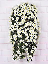 economico -Seta Orchidee Fiori Artificiali