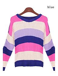 billige -Dame Gade Pullover - Stribet