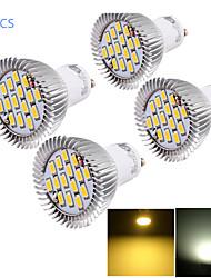cheap -6W GU10 LED Spotlight MR16 15 SMD 5630 450-500 lm Warm White Cold White 3000/6000 K Decorative AC 85-265 V