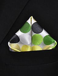 cheap -Men's Party Basic Rayon Necktie - Polka Dot Color Block Basic