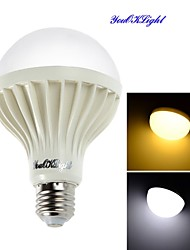 cheap -YouOKLight 900 lm E26/E27 LED Globe Bulbs A70 18 leds SMD 5630 Decorative Warm White Cold White AC 220-240V