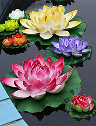 cheap -The Left Cylinder Decoration Polyester Lotus Artificial Flowers
