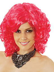 usine directe Vente en gros rose perruques courtes tempérament élégant europe et aux états-unis perruque style chaud