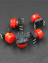 Недорогие -Контроль электрической мощности 4-контактный кнопка Swit (5шт)