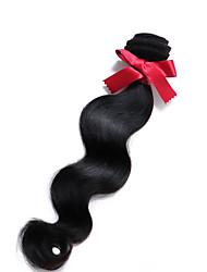 abordables -Cheveux Péruviens Ondulation naturelle Tissages de cheveux humains 1 Pièce 0.1