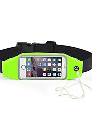 cheap -Waist Belt for Running Sports Bag Portable Running Bag Nylon Black Rose Red Red Green Blue