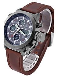 Муж. Спортивные часы Армейские часы электронные часы Японский Кварцевый Цифровой Календарь Защита от влаги С двумя часовыми поясами