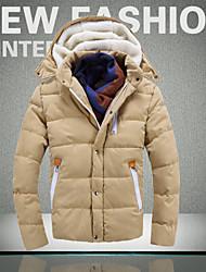 Ležérní Stojací límec - Dlouhé rukávy - MEN - Coats & Jackets ( Bavlna / Směs bavlny )